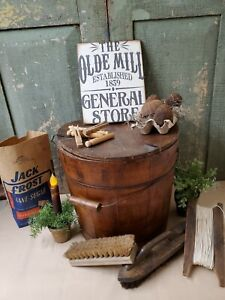 Primitive Victorian Vintage Style Advertising Olde Mill 1839 General Store Sign