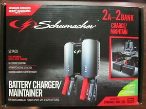 Schumacher Sc1409 Battery Charger Maintainer Brand New