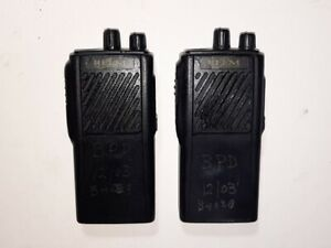 2x Relm Rpv516a Portable Radios Vhf 150 174mhz 16h 5w Works