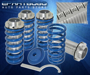 94 01 Acura Integra Dc2 Jdm Vip Scale Adjustable Coilover Sleeves Kit Set Blue