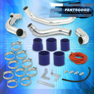 For 95 98 Nissan 240sx S14 Jdm Sr20 Turbo Intercooler Piping Kit Clamps Coupler