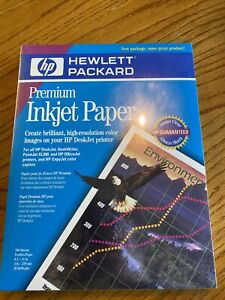 Hp Premium Inkjet Paper 51634y 8 X 11 5 200 Sheet Package