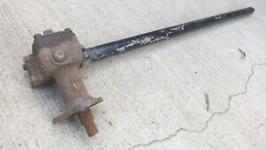 1948 1952 Ford Truck Steering Column Assembly Original F1 Pickup Tube Gear Box
