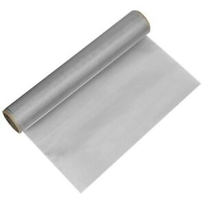 Timesetl 304 Stainless Steel Woven Wire 200 Mesh 12 x 40 Filter Screen She