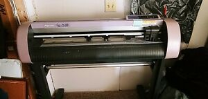 Mimaki Cg 75fx Cutting Plotter Laser Alignment System And Lots Of Vinyl