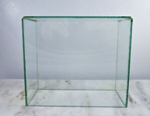 Frameless Glass Display Case No Bottom 8 25 L X 7 25 H X 4 D Used Handmade