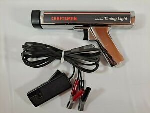 Vintage Craftsman Inductive Timing Light I 2302 E