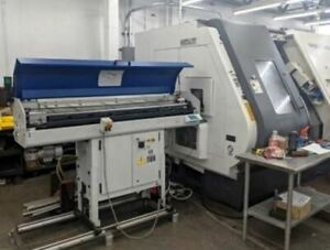 Nakamura Tome Wy 250 Mmyy Cnc Lathe 2011 Bar Feeder Twin Spindle Twin Live