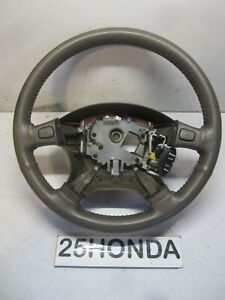 1994 2001 Acura Integra Gsr Leather Wrapped Steering Wheel Dc1 Dc2 Dc4 Rare Oem