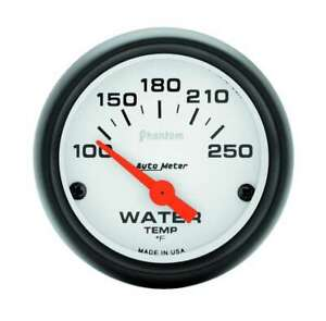 Auto Meter Phantom 2 1 16in Water Temp 100 250 Elec