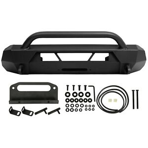 Front Bumper Guard Bull Bar For Toyota Tacoma 2016 2020 Steel Powder Coated