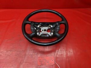 94 98 Ford Mustang Lx Gt Cobra Saleen Oem Black Leather Wrapped Steering Wheel