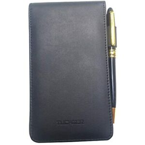 Mini Notepad Holder Set Pocket Memo Pads Book Cover For Business Professionals