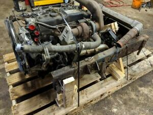 Isuzu 4bd2tc Engine And Transmission Assembly Cutout For Engine Repower Motor