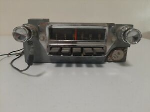 Original Ford Mustang Falcon 1964 1965 1966 Am Radio Fomoco