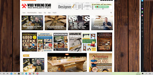 Wood Working Guides And Tips Website 100 Automated premium Designed
