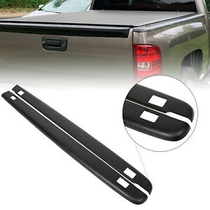 7241114 Truck Bed Rail Caps Cover W Holes For 2007 2013 Chevy Silverado 5 8 Bed