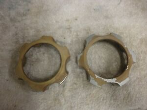 Toyota Tacoma 4runner With Manual Lockouts Front Center Caps Hubcaps Set Of 2