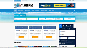 Travel Search Guide Website Affiliate Product Website 100 Automated