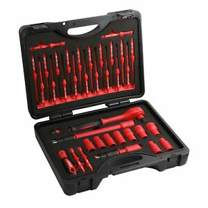 Ares 19004 37 piece Insulated Electrical Tool Set Ergonomic Handle With 19
