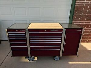 Snap on Tool Box Master Series In Cranberry Color