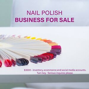 Nail Polish Business For Sale Magpie Paints Nail Polish Turn Key Inventory