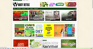 Body Detox Guides Website Affiliate Product Website 100 Automated