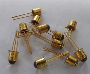 New Optek Technology Op802 Transistor Photo Npn To 18 3 Gold 10 Pack