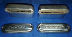 Vintage Offenhauser Offy Aluminum Breathers Hot Rat Rod