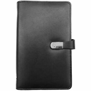 Enyuwlcm Pu Leather Business Card Book Organizer Journal Name Holder With 240