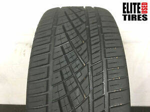 1 Continental Extremecontact Dws06 P265 45zr20 265 45 20 Tire 8 0 8 75 32