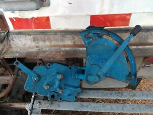 Ford 1910 2110 Tractor Hydraulic 3 Point Valve Quadrant