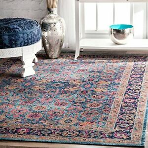 Isela Vintage Persian Area Rug 4 X 6 Bluetraditional Design Free Shipping