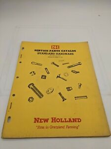 New Holland Service Parts Catalog Standard Hardware