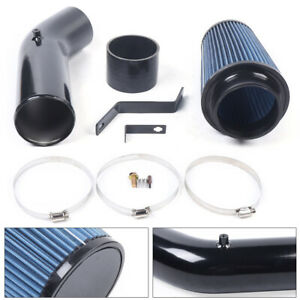 4 Cold Air Intake Pipe Kit Aluminum For 1999 2003 Ford Powerstroke Diesel 7 3l