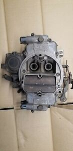 Used Holley Dual Feed 4 bbl Barrel Carburetor Model 12r 10554b R84010 2