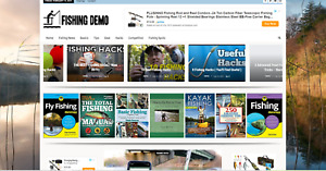 Fishing News guides Affiliate Product Website 100 Automated