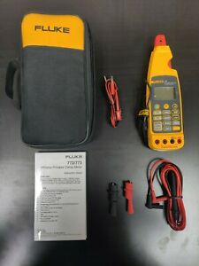 New Fluke 773 Milliamp Process Clamp Meter With Soft Case