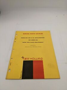New Holland Service Parts Catalog 361 391 Gas Engine 6 72