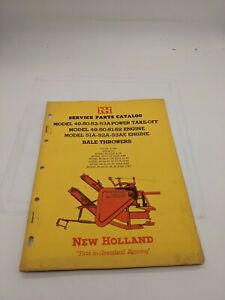 New Holland Service Parts Catalog 49 50 53 Engine Bale Thrower