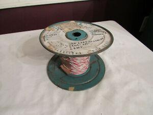 Vintage Tensolite Electrical Wire Spool Awg 22 Gauge Amp Telephone Swithchboard