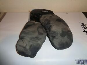 Columbia Youth M Core Mittens Rain Resistant Black CY9013 FAST Camo NEW $18.99