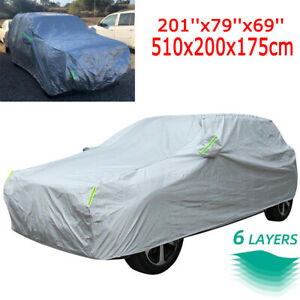 Full Suv Car Cover For Jeep Grand Cherokee Waterproof Uv Resistant Protection