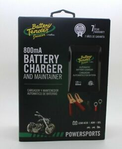 Battery Tender Jr High Efficiency 800ma Battery Charger Brand New Sealed