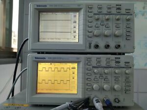Tektronix Tds220 100 Mhz 2 Channel Digital Oscilloscope