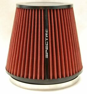 Spectre Hpr9886 Performance Cold Air Intake Red Filter 6 Clamp On
