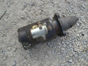 International 300 Utility Ih Tractor Original Working 12v Starter Assembly