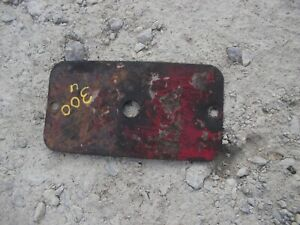 International 300 Utility Ih Tractor Original Transmission Cover Panel