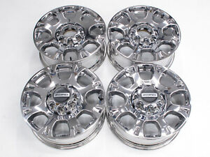 New 2021 Limited 20 Oem Ford F250 F350 Super Duty Factory Wheels Chrome Caps