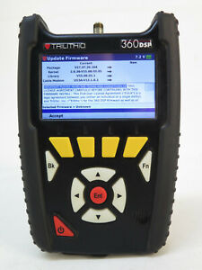 Trilithic 360dsp Docsis3 1 Cable Meter With Charger 360 Dsp